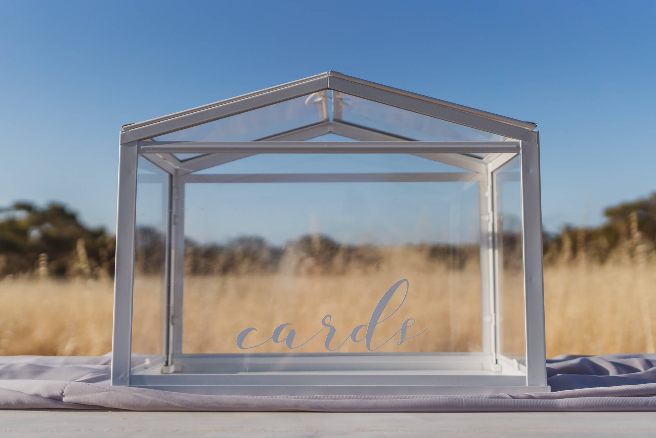 Greenhouse cards box